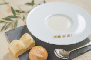 香川県三豊市の結婚式場シェノンのスープ